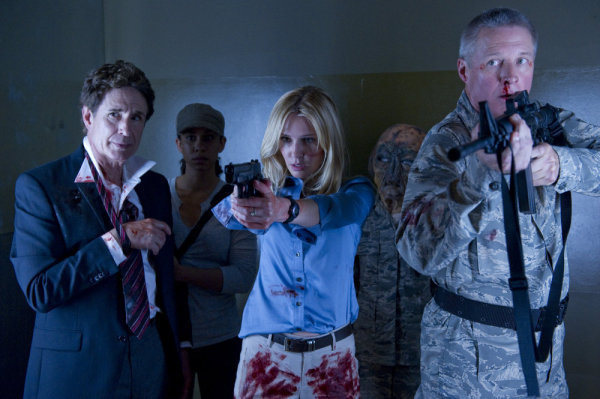 Bruce Boxleitner, Vanessa Branch, and John Shea in 51 (2011)