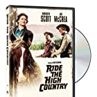 Randolph Scott, Mariette Hartley, and Joel McCrea in Ride the High Country (1962)