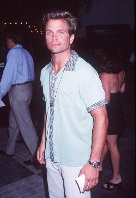 David Chokachi at an event for The Lost World: Jurassic Park (1997)