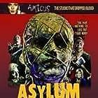 Peter Cushing, Britt Ekland, Charlotte Rampling, Herbert Lom, Patrick Magee, Barbara Parkins, Robert Powell, Sylvia Syms, and Richard Todd in Asylum (1972)