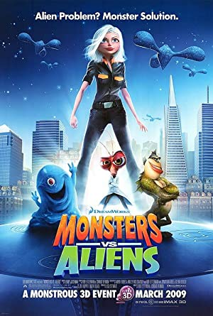 Monsters vs. Aliens Poster Image