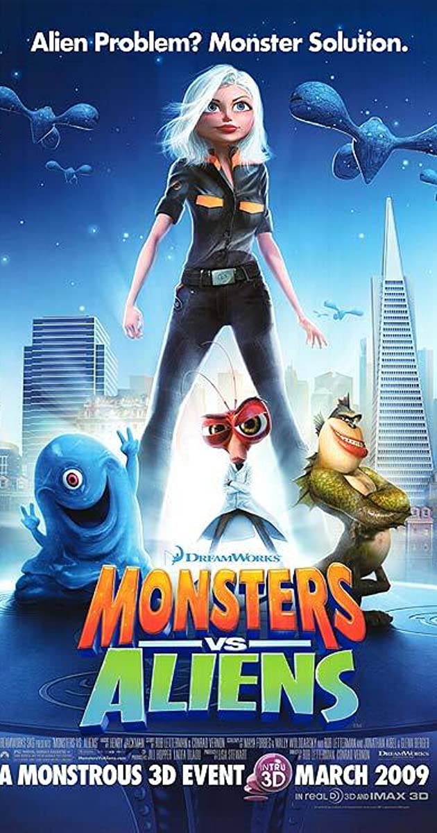 Monsters Vs Aliens 2009 Imdb