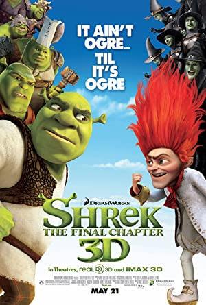 Shrek Forever After Poster Image