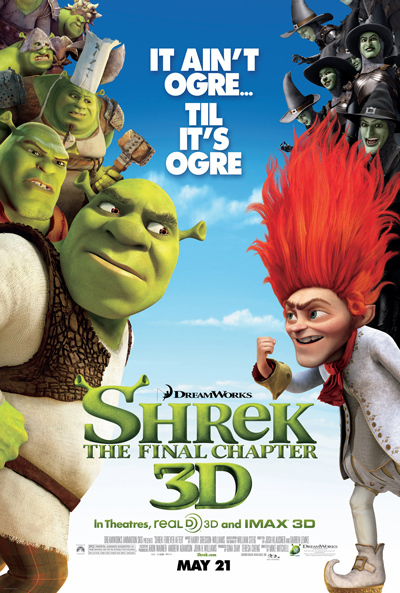 [PG] Shrek Forever After (2010) Dual Audio Blu-Ray - 480P | 720P - x264 - 300MB | 700MB - Download & Watch Online  Movie Poster - mlsbd