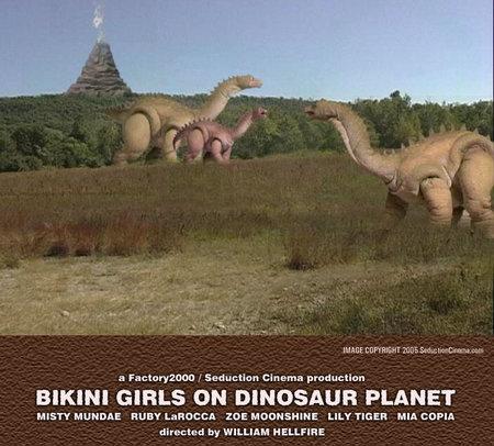 Apologise, bikini girls on dinosaur planet 2005 for