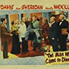Billie Burke, Russell Arms, George Barbier, Elisabeth Fraser, Grant Mitchell, Betty Roadman, Edwin Stanley, Richard Travis, and Monty Woolley in The Man Who Came to Dinner (1942)