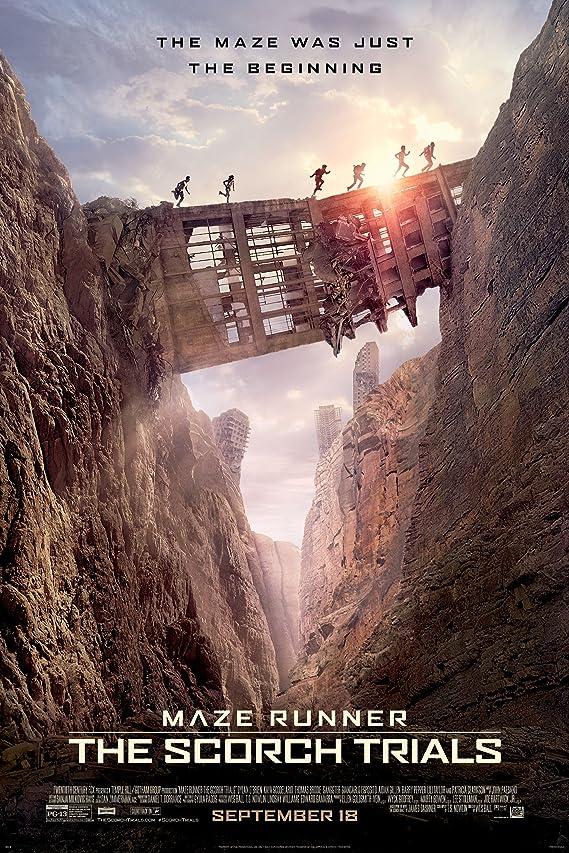 Maze Runr: The Scorch Trials (2015) Hindi Dubbed