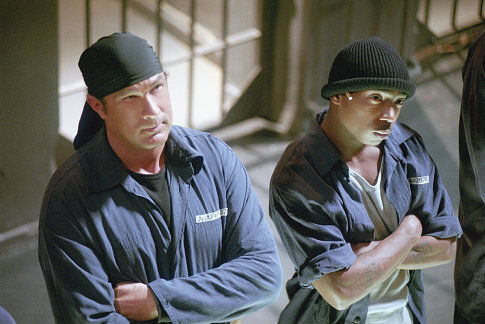 Steven Seagal and Ja Rule in Half Past Dead (2002)