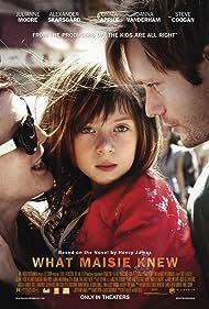 Julianne Moore, Alexander Skarsgård, and Onata Aprile in What Maisie Knew (2012)
