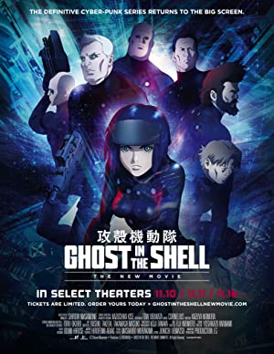 Ghost in the Shell: The New Movie (2015) BluRay 480p & 720p - Pahe in