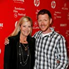 Burton Ritchie and Becky Newhall at an event for Misery Loves Comedy (2015)