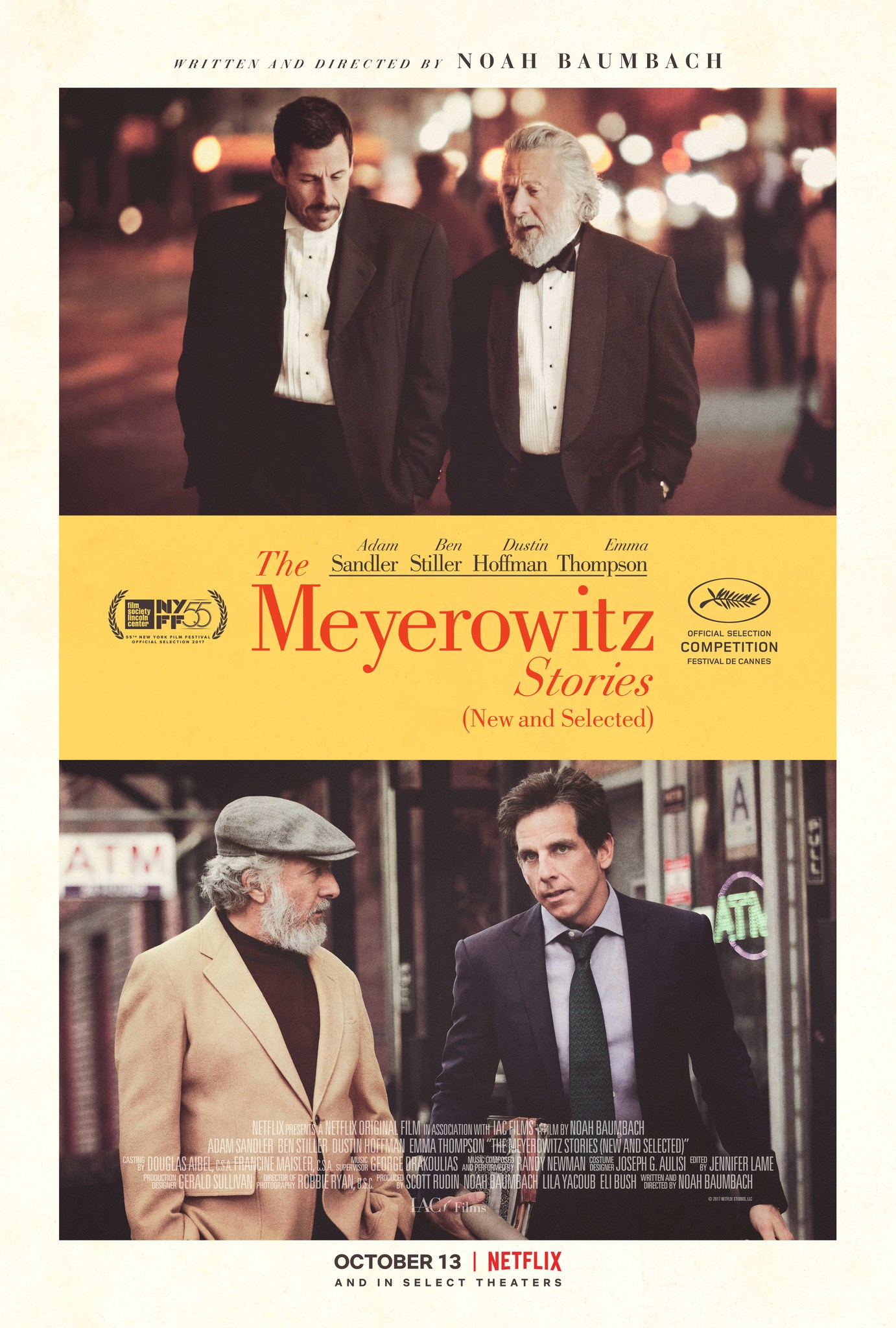 The Meyerowitz Stories (New and Selected) (2017) WEBRip 480p, 720p & 1080p