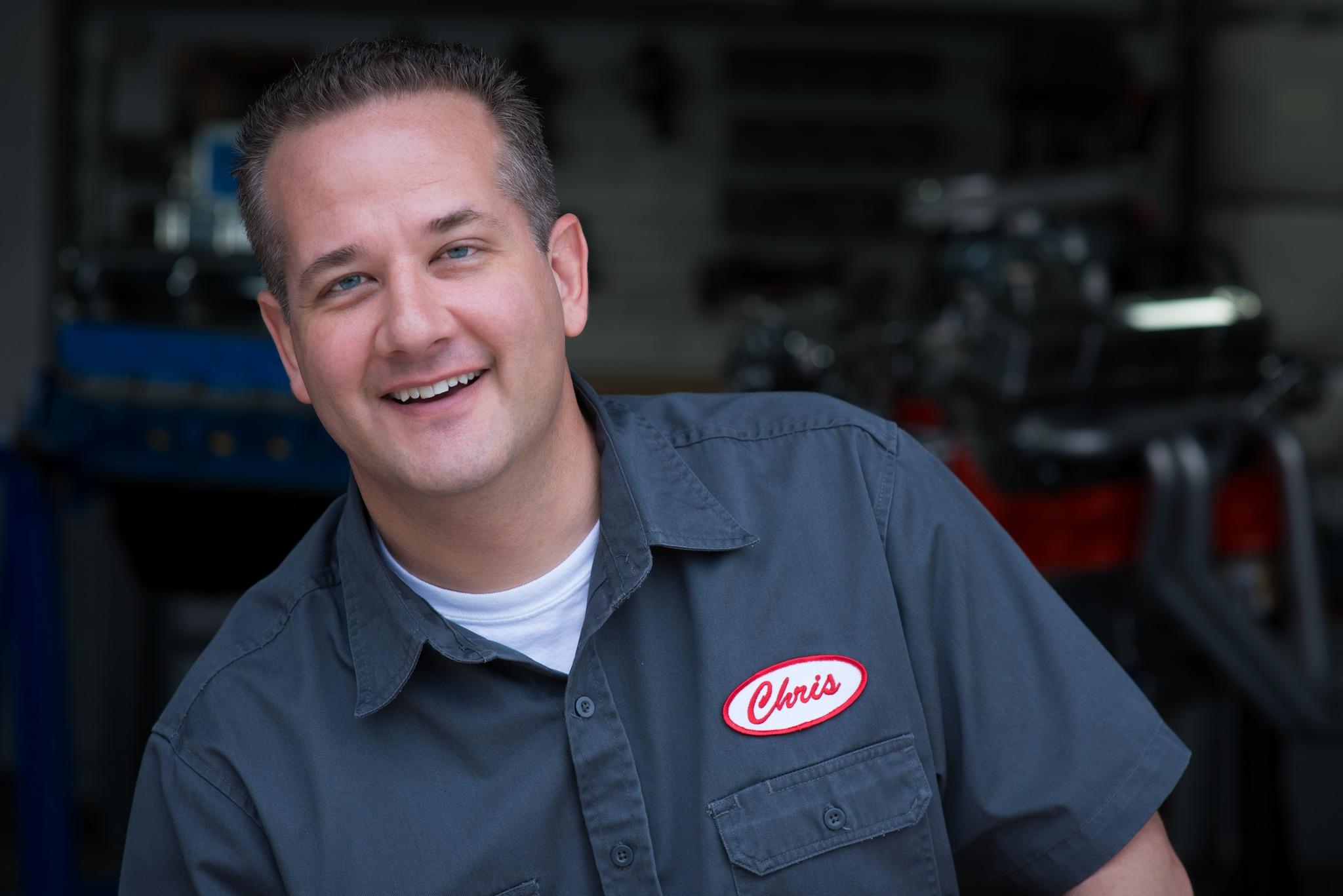 Chris Duke, host of eHow Auto Center