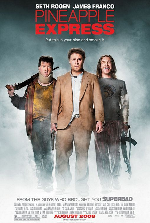 Pineapple Express 2008 Dual Audio Hindi 400MB UNRATED BluRay Download