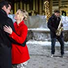 Dean Cain and Melissa Joan Hart in Broadcasting Christmas (2016)