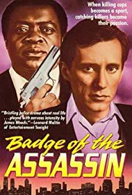 James Woods and Yaphet Kotto in Badge of the Assassin (1985)