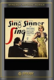 Sing Sinner Sing Poster