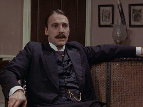 Stuart Wilson in The Return of Sherlock Holmes (1986)