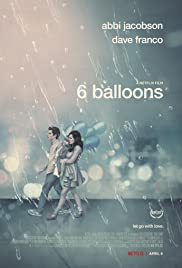 6 Balloons Poster