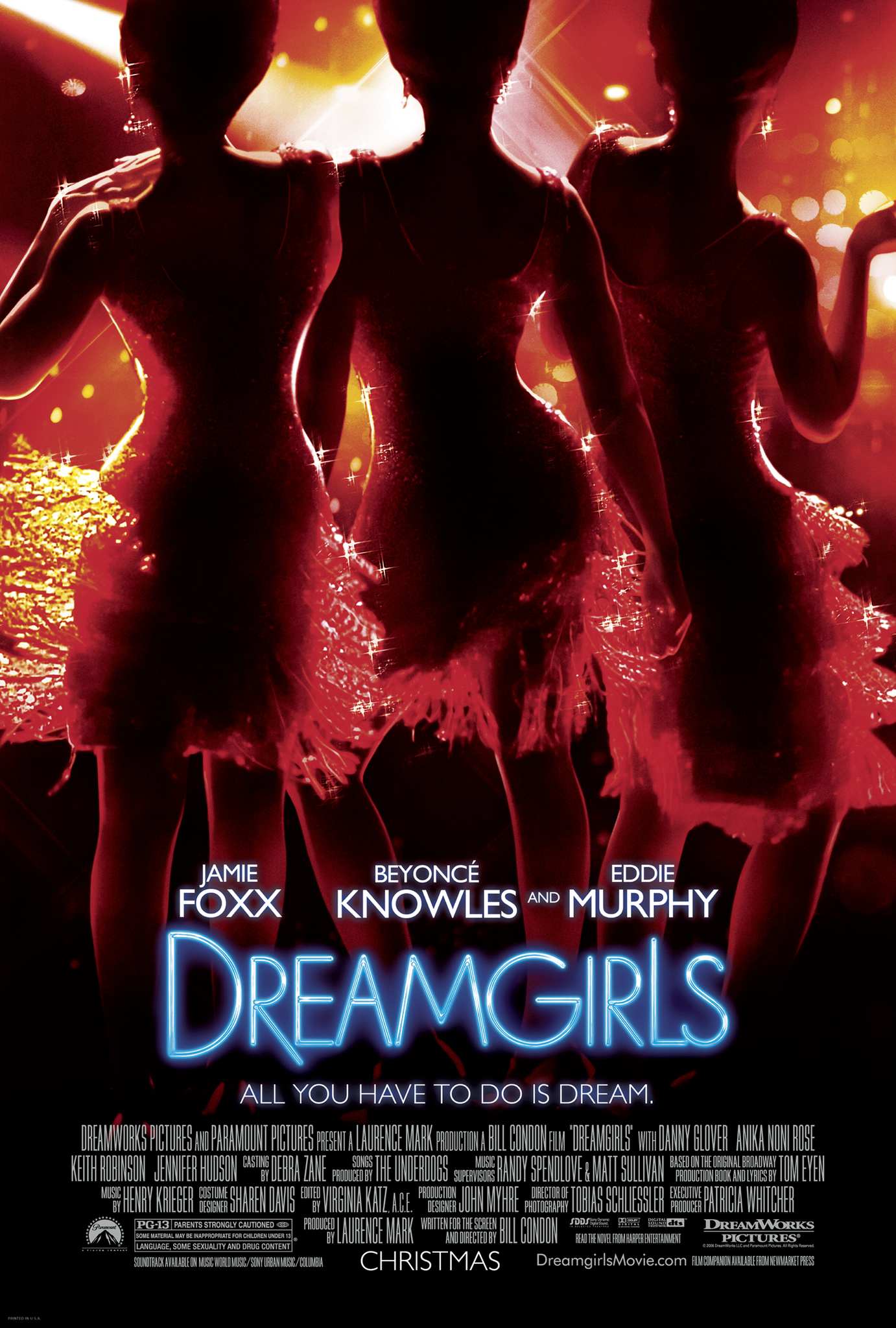 Dreamgirls 2006 Hindi Dubbed 720p BluRay ESubs 1.1GB Download