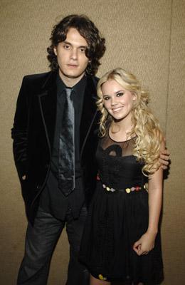 John Mayer and Cheyenne Kimball
