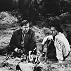 Alan Ladd and Edmond O'Brien in The Big Land (1957)