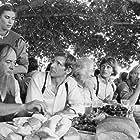 Harrison Ford, Kelly McGillis, Viggo Mortensen, and Alexander Godunov in Witness (1985)