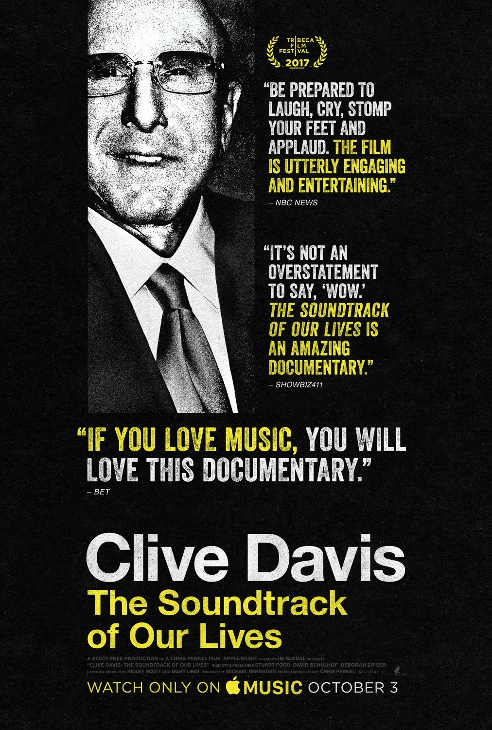 Clive Davis The Soundtrack Of Our Lives 2017 Imdb