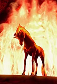The Fire Unicorn Poster