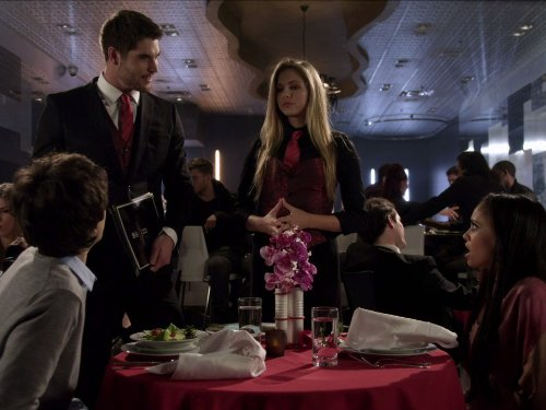 Vanessa Morgan, Matthew Knight, and Kate Todd in My Babysitter's a Vampire (2011)