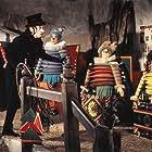 Dick Van Dyke, Adrian Hall, Robert Helpmann, Sally Ann Howes, and Heather Ripley in Chitty Chitty Bang Bang (1968)
