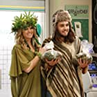 Missi Pyle and Dougie Baldwin in Disjointed (2017)
