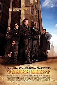 Matthew Broderick, Téa Leoni, Eddie Murphy, Casey Affleck, Ben Stiller, Michael Peña, and Gabourey Sidibe in Tower Heist (2011)