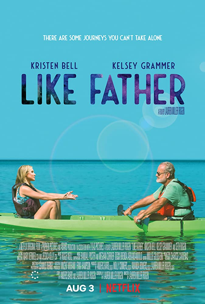 Kelsey Grammer and Kristen Bell in Like Father (2018)