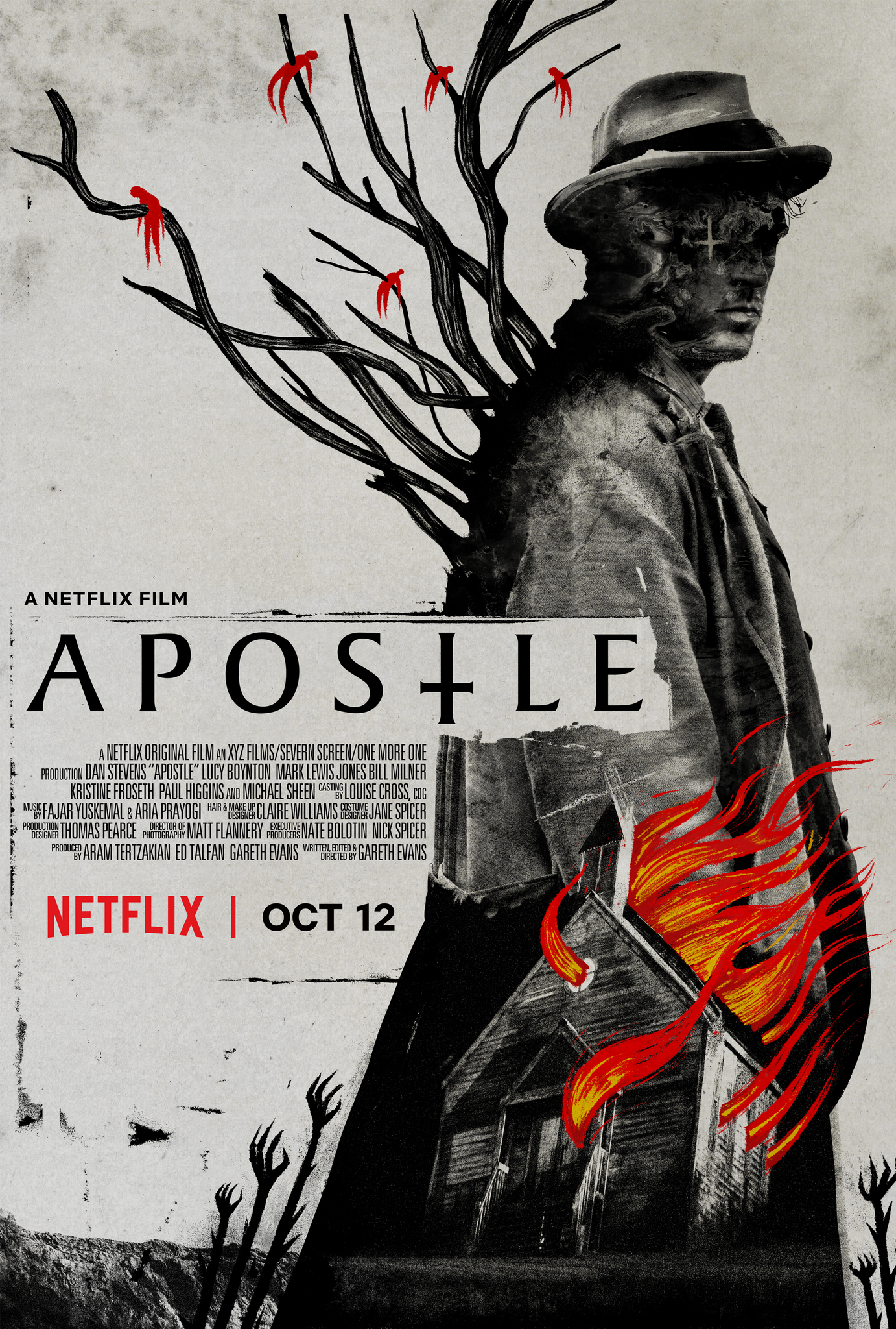 Apostle 2018 1080p WEBRip DDP5 x264 Torrent İndir
