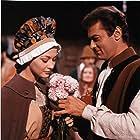 Tony Curtis and Christine Kaufmann in Taras Bulba (1962)