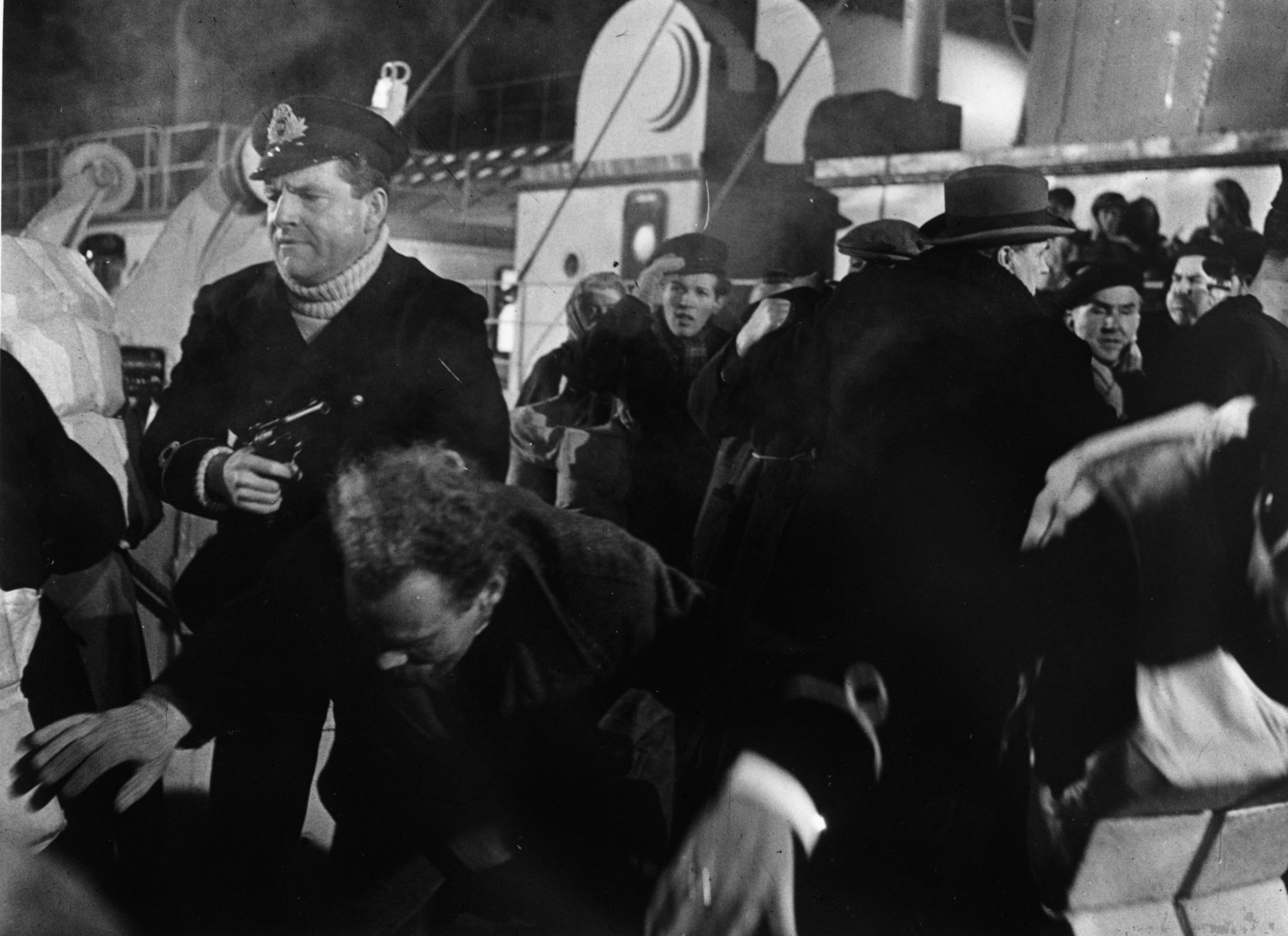 Kenneth More in A Night to Remember (1958)