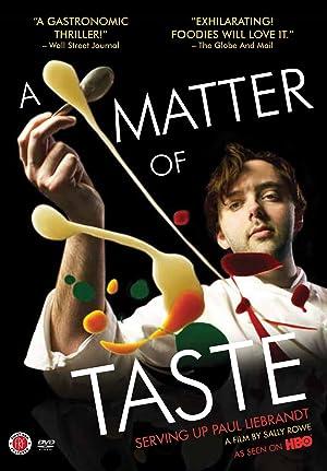 Where to stream A Matter of Taste: Serving Up Paul Liebrandt