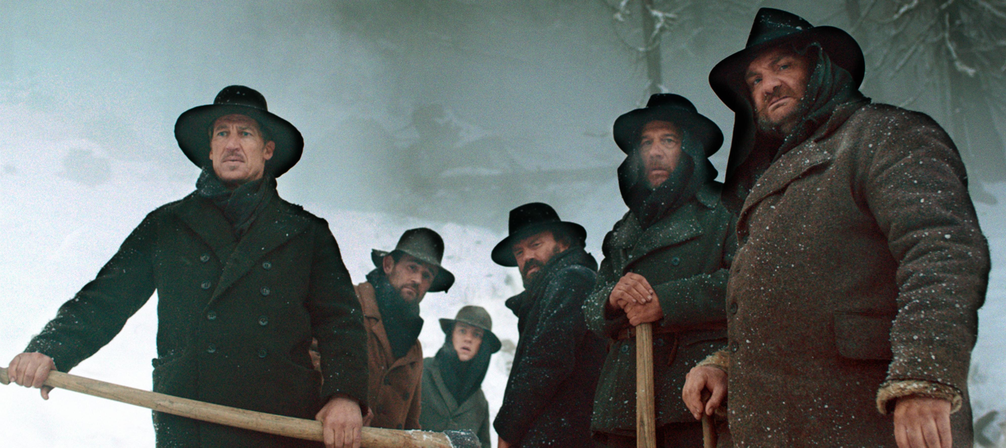 Tobias Moretti, Johannes Nikolussi, Clemens Schick, Martin Leutgeb, Florian Brückner, and Helmuth Häusler in Das finstere Tal (2014)
