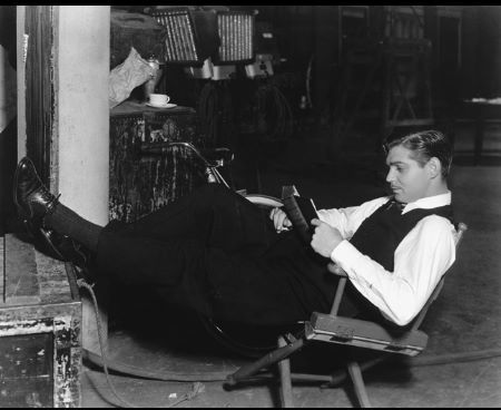 """""""The Dancing Lady"""" Clark Gable MGM, 1933"""