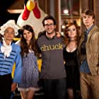 Josh Schwartz, Victoria Justice, Osric Chau, Thomas Mann, and Jane Levy in Fun Size (2012)