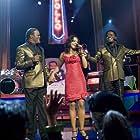 Samuel L. Jackson, Bernie Mac, and Sharon Leal in Soul Men (2008)