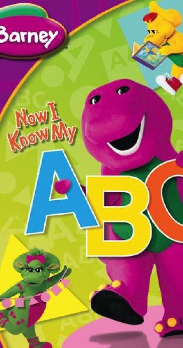 Barney Now I Know My Abcs Video 2004 Imdb