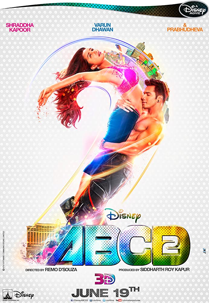 ABCD 2 (2015) BluRay [1080p-720p-480p] Hindi x264 AAC 5.1 ESub