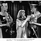 Ian Keith, Henry Wilcoxon, and Loretta Young in The Crusades (1935)