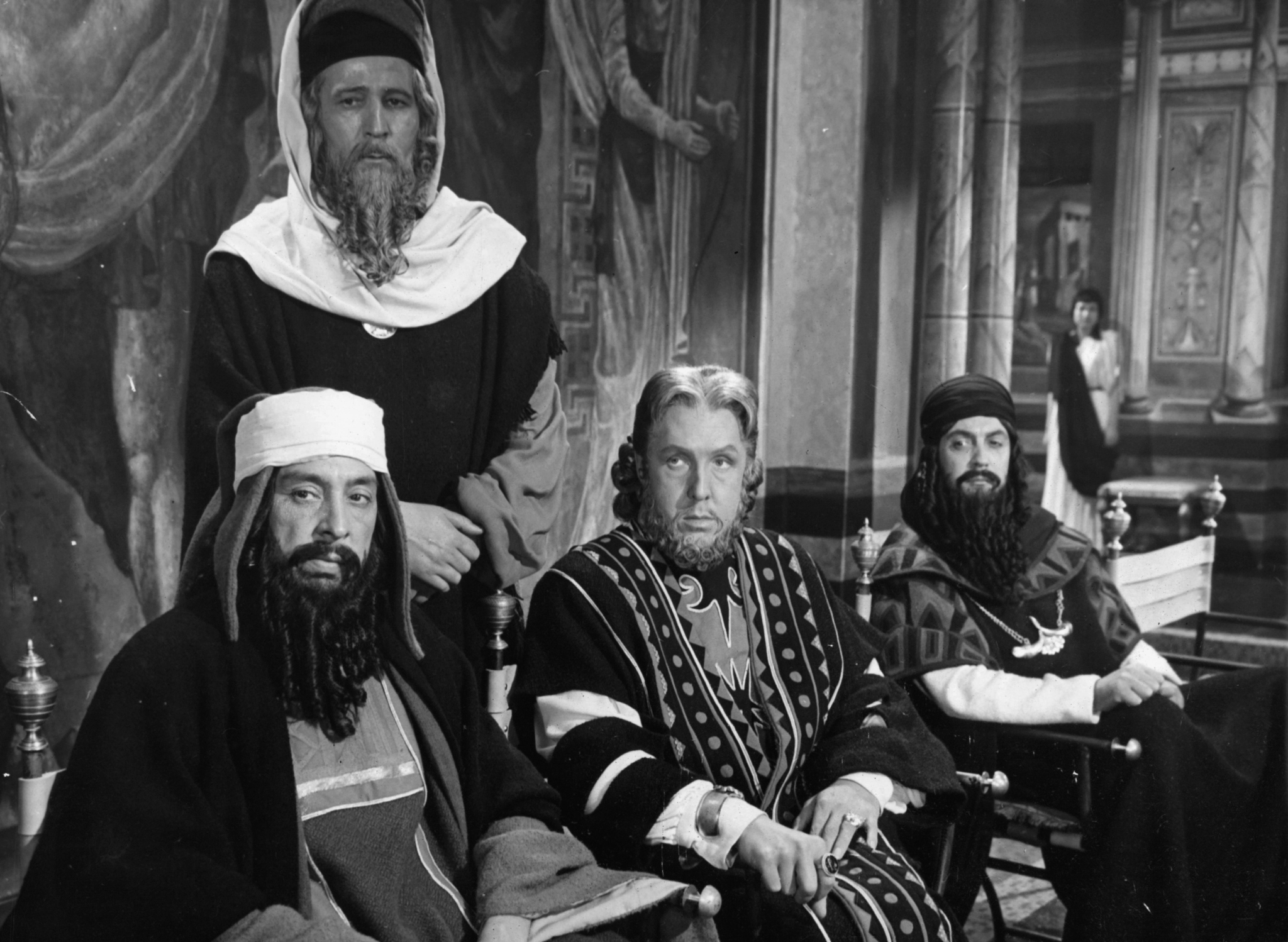 Frank Thring in King of Kings (1961)