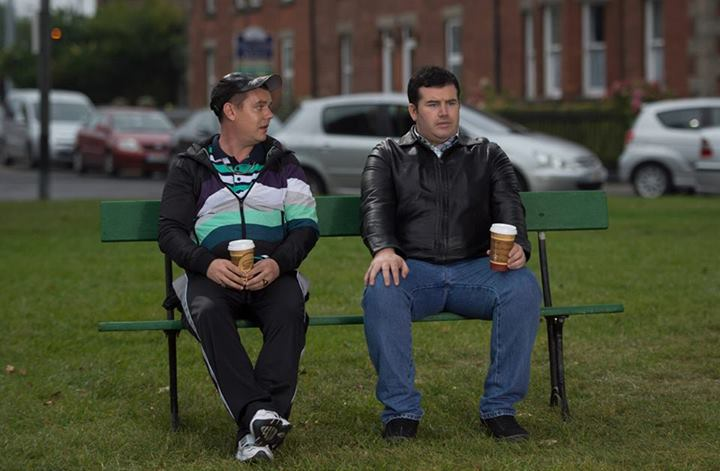 Danny O'Carroll and Paddy Houlihan in Mrs. Brown's Boys D'Movie (2014)