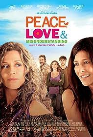 Jane Fonda, Catherine Keener, Jeffrey Dean Morgan, Elizabeth Olsen, and Chace Crawford in Peace, Love & Misunderstanding (2011)