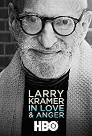 Larry Kramer in Love and Anger Poster