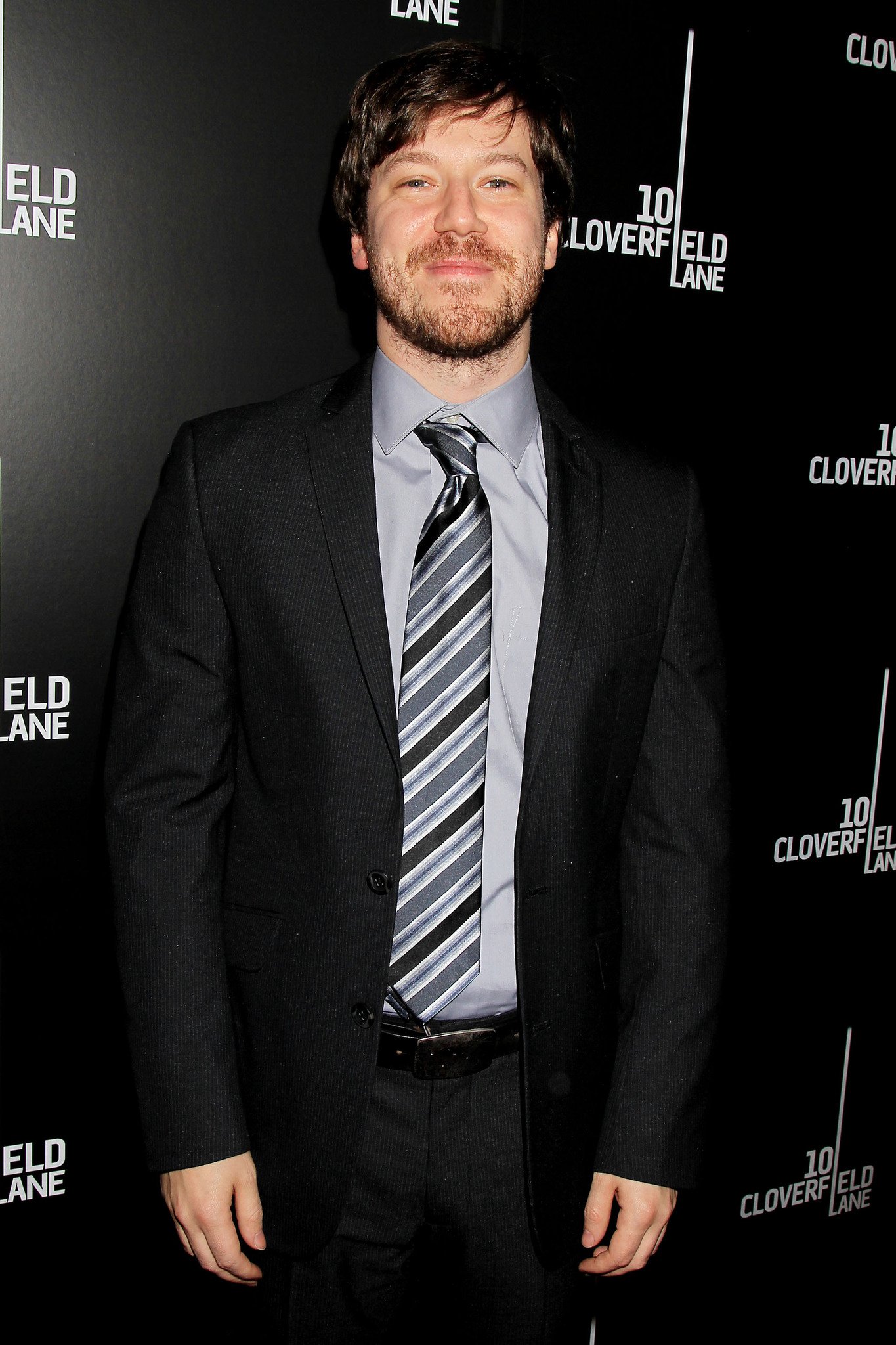 John Gallagher Jr. at an event for 10 Cloverfield Lane (2016)